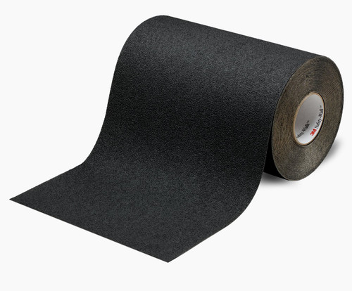 """3M™ 048011-19236 Safety-Walk™ 610 Black Slip-Resistant General Purpose Tapes & Treads - 24"""" x 60' Roll"""