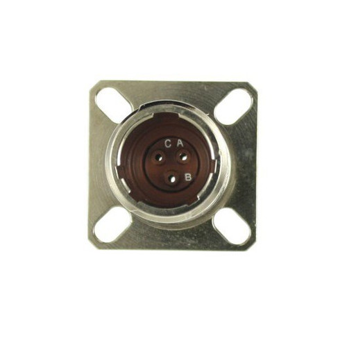 Military Specification D38999/20WA98SN Connector, Receptacle, Electrical