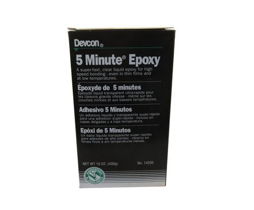 Devcon® 14200 5 Minute® Epoxy Rapid-Cure General-Purpose Adhesive - 15 oz Kit