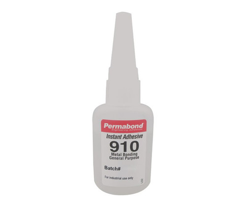 Permabond® 910 Clear Methyl Cyanoacrylate Adhesive - 1 oz Bottle