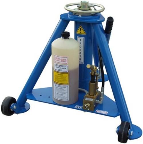 Tronair® 02-0522C0141 Blue Hydraulic Forward Jack (5 ton/4.5 metric ton) (High Skid Gear) (CE)