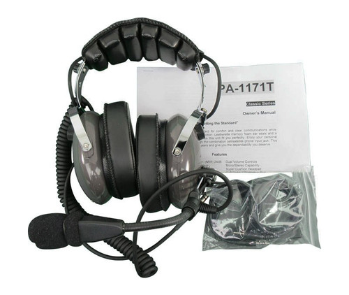 Pilot USA PA-1171TH Value Series Mono Helicopter Headset