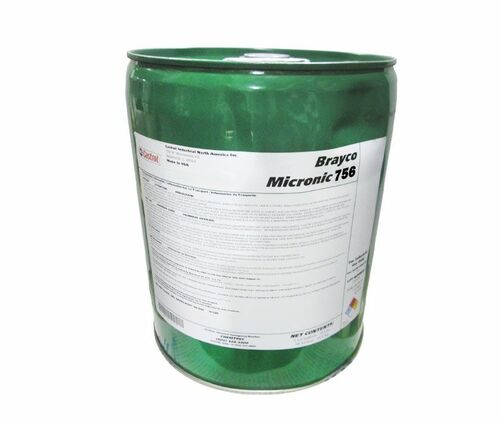 Castrol® Brayco™ Micronic 756 MIL-PRF-5606J Spec Red Petroleum Based Hydraulic Fluid - 5 Gallon Steel Pail