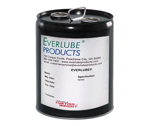 Everlube® Lubri-Bond® A Gray/Black Everlube® Standard Spec Air Dry MoS2/Graphite Solid Film Lubricant - 5 Gallon Pail