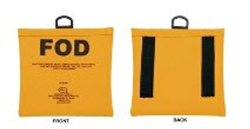 Seitz Scientific FOD-1A Fluorescent Yellow FOD Bag with Belt Loops