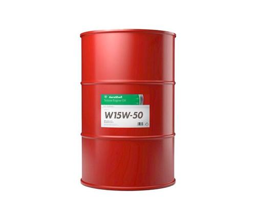 AeroShell™ Oil 15W-50 Semi-Synthetic Aircraft Piston Engine Oil - 55 Gallon (206.9 Kg) Steel Drum