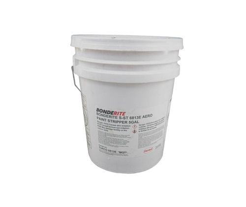 Henkel 596851 BONDERITE® S-ST 6813E AERO Paint Stripper - 18.93 Liter (5 Gallon) Pail