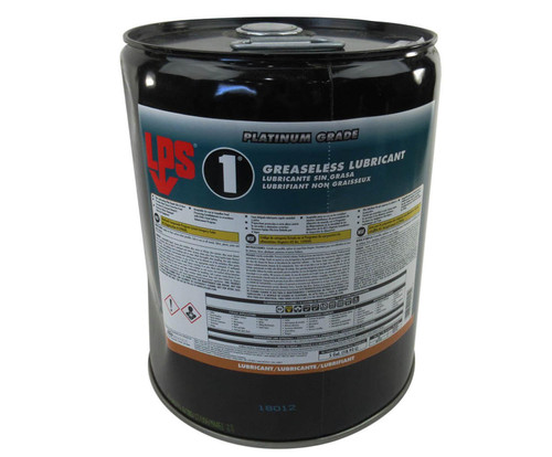 LPS® 00105 LPS-1 Amber Greaseless Penetrant Lubricant - 5 Gallon Steel Pail
