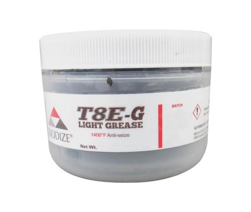 TIODIZE® T8E-G Gray GE Power 132T9986 Spec 1400°F Anti-Seize Light Grease - 227 Gram (8 oz) Jar