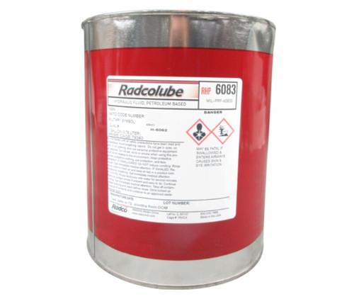 RADCOLUBE® RHP6083 Red MIL-PRF-6083G Spec Rust-Inhibited Petroleum Base Hydraulic Fluid - Gallon Can