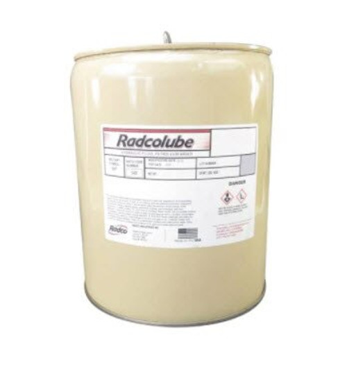 RADCOLUBE® FR282 Red MIL-PRF-83282D(1) Spec Fire-Resistant Synthetic Low Temperature Hydraulic Fluid - 5 Gallon Pail