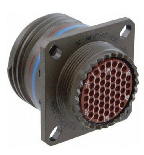 Military Specification D38999/20GC35PA Connector, Receptacle, Electrical