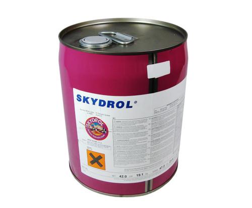 Eastman™ Skydrol® 5 Purple BMS3-11P Type V, Grade B & C Spec Fire Resistant Hydraulic Fluid - 18.42 Kg (5 Gallon) Steel Pail
