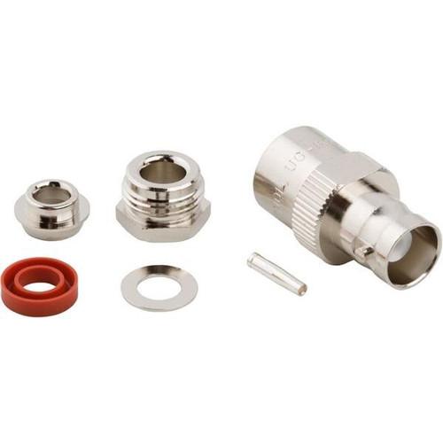Amphenol RF 31-5 Brass/Nickle UG-89, RG-58, RG-141 & RG-303 Female Straight Connector, Plug, Electrical