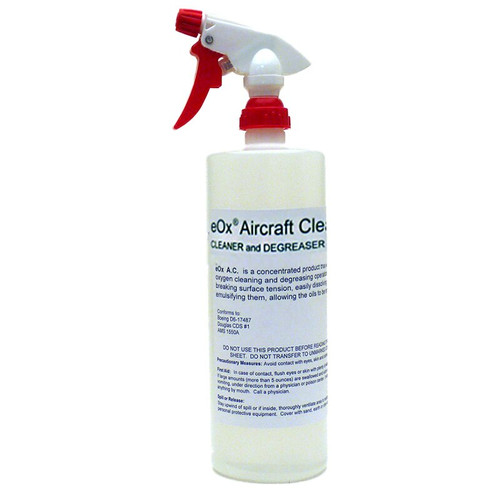 eOx® 2510-115 RTU Aircraft Cleaner & Degreaser - 32 oz Trigger-Spray Bottle