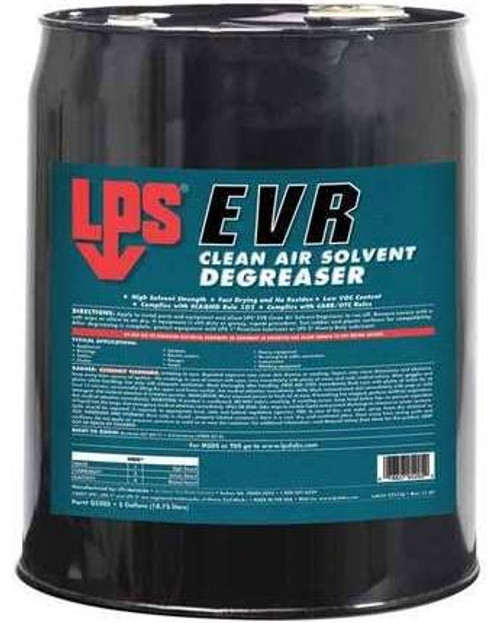 LPS® 05205 EVR Clean Air Solvent Degreaser - 5 Gallon Steel Pail
