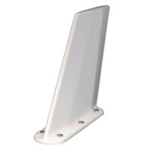 Artex 110-340 White Tri-Band 50-Watt 300-Knot Blade ELT Antenna - 121.5, 243 MHz & 406 MHz