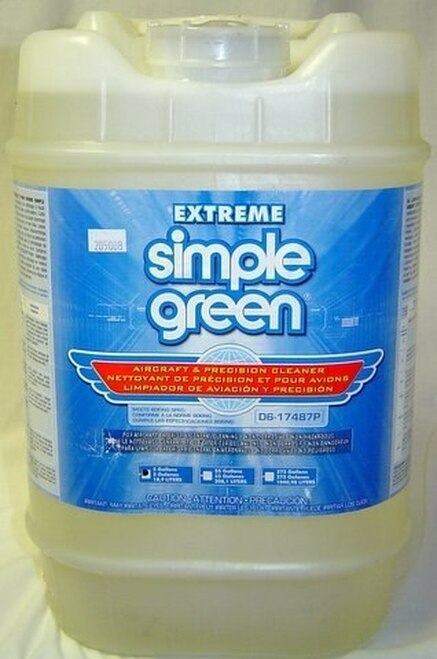 Extreme Simple Green® 13405 Aircraft & Precision Cleaner - 5 Gallon Pail