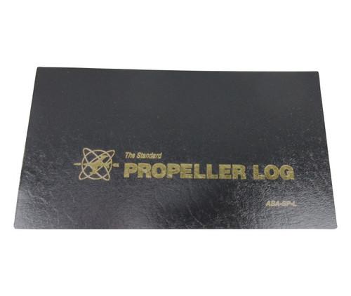 Aviation Supplies & Academics ASA-SP-L Black The Standard™ Softcover Propeller Logbook
