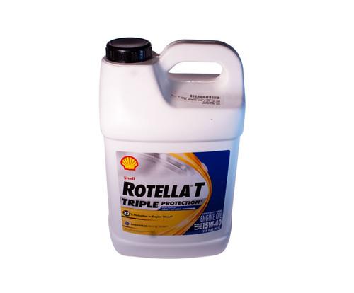 Shell Rotella® T4 Triple Protection™ 15W-40 (CK-4) Heavy-Duty Diesel Engine Oil - Gallon Jug