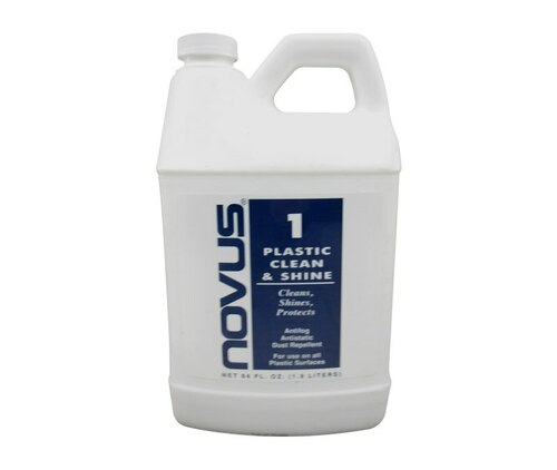 NOVUS 7050 Plastic Polish Clean & Shine #1 - 64 oz Jug