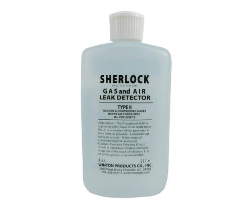 Sherlock T2-8S Type II Oxygen & Compressed Gas Leak Detector - 8 oz Squeeze Bottle