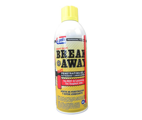 Cyclo® C10 Break Away® Heavy-Duty Fast Penetrating + Extended Lubrication Oil - 369 Gram (13 oz) Aerosol Can