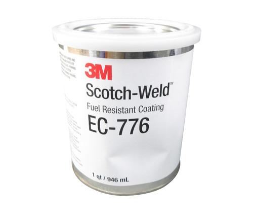 3M™ 021200-19668 Scotch-Weld™ EC-776 Clear Fuel Resistant Coating - Quart Can