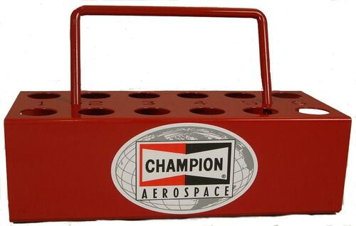Champion Aerospace CT-446 12-Hole Spark Plug Tray