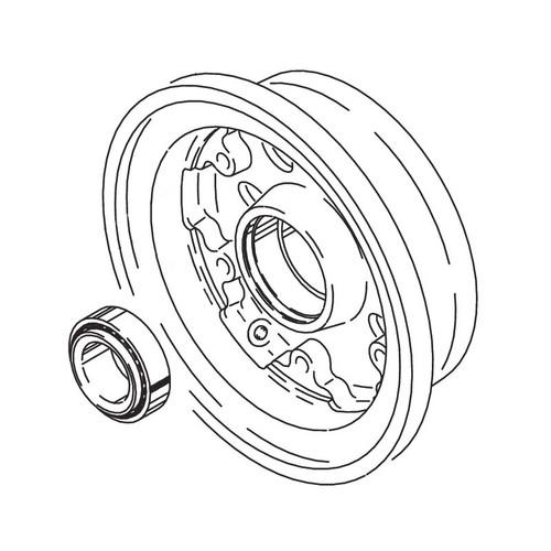 Cleveland Wheel & Brake 162-18000 Outer Wheel Half Assembly
