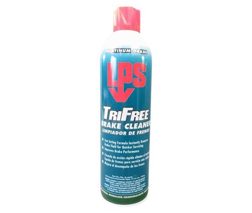 LPS® 03620 Tri-Free Clear Heavy-Duty Solvent Brake Cleaner - 15 oz Aerosol Can