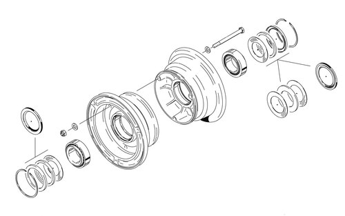 Cleveland Wheel & Brake 40-76E Wheel Assembly