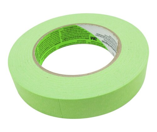 3M™ 021200-72066 Scotch® 2060 Green Masking Tape - 24 mm x 55 m Roll