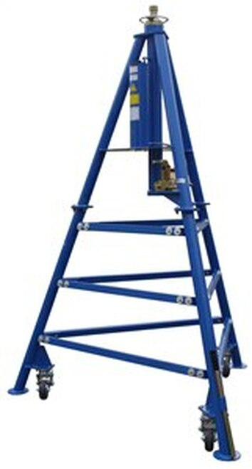 Tronair® 02-7802C0111 Blue Hydraulic Aft Fuselage Jack (12 ton/10.8 metric ton) (CE)