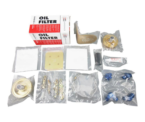 Airwolf AFC-K007-F Universal Lycoming (engines with existing rear accessory case filters) Remote Mount Oil Filter Kit