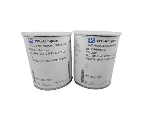 PPG Aerospace® Desoprime™ CA7233A/B Yellow MIL-PRF-23377 Type I C2 Spec High-Solids Military Epoxy Primer - Gallon Kit
