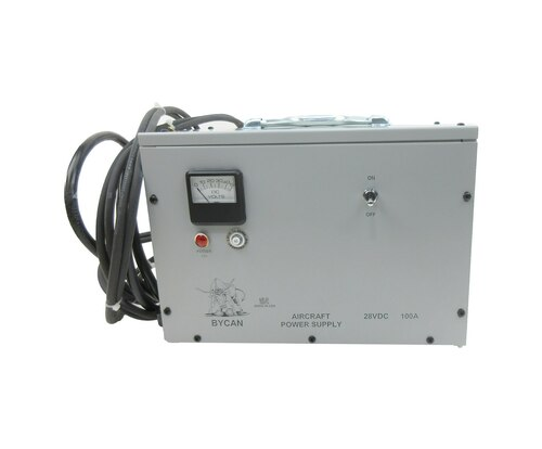 Bycan PS-28100E 28-Volt/230 VAC/50 Hz European Version Auxiliary Power Unit with Cessna Style/AN2551 Plug