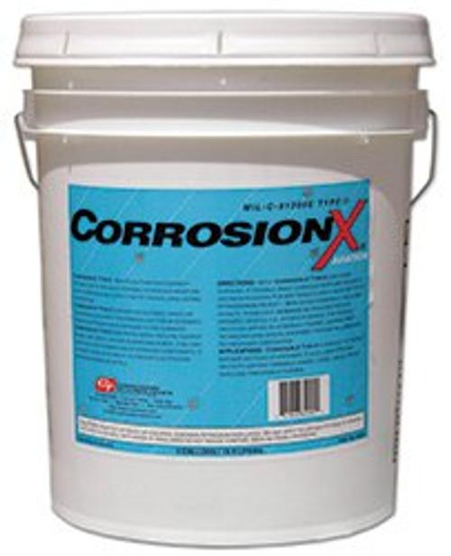CorrosionX® 84005 Clear MIL-PRF-81309F Type II, Class II Spec Aviation Corrosion Inhibitor - 5 Gallon Pail