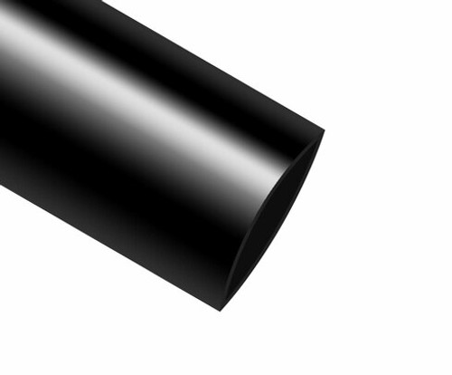 """Military Specification M23053/4-303-0 Black 1/2"""" Heat Shrink Tubing"""