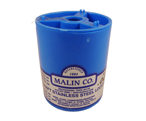 """Military Standard MS20995C22 Stainless Steel 0.022"""" Diameter Safety Wire - 1 lb Roll"""
