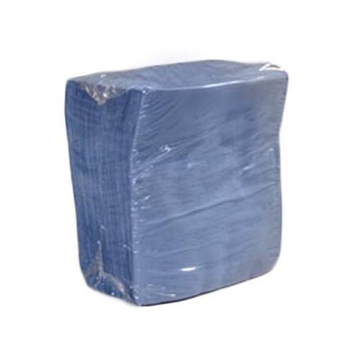 "DuPont MP1213BG Sontara Blue/Green 12"" x 13"" Smooth Shop Towels - 900 Towel/Box"