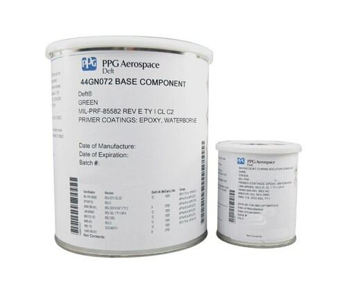 PPG Aerospace® Deft® 44-GN-072 Green MIL-PRF-85582 Type I, Class C2/MMS-423 Spec Chromated Water Reducible Low Density Epoxy Primer - Gallon Kit