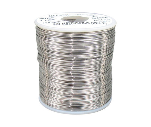 """Military Standard MS20995N20 Inconel 0.020"""" Diameter Safety Wire - 1 lb Roll"""