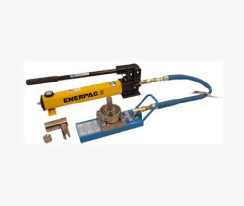 Tronair® 02-7834C0111 Yellow 12-Ton Hydraulic Axle Jack (CE)