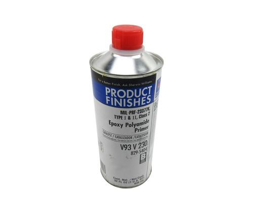 Sherwin-Williams® V93 V 230 POLANE® L Clear Chromated Epoxy Polyamide Primer Catalyst 2.8 VOC - Quart Can