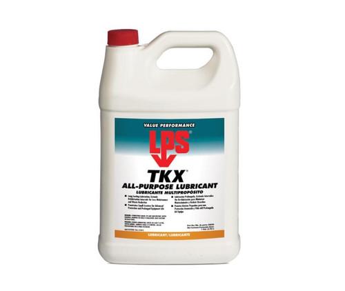 LPS® 02028 TKX Dark Green All-Purpose Penetrant Lubricant - Plastic Gallon Jug