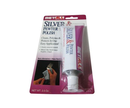 Met-All SP-2 Silver & Pewter Polish - 2.5 oz Tube