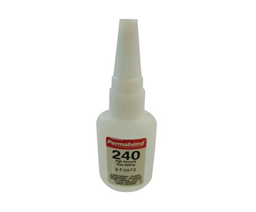 Permabond® 240 Clear Cyanoacrylate Adhesive - 1 oz Bottle