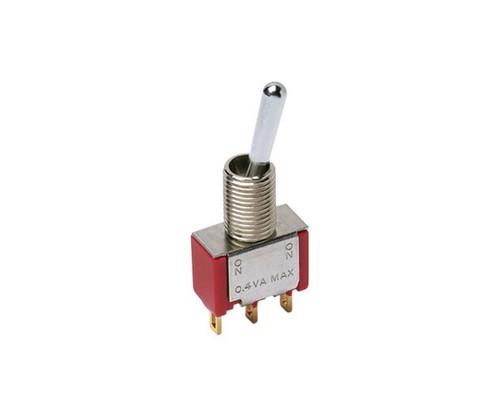 ITT 7203SH3ZQE DPDT Mini Batt Toggle Switch