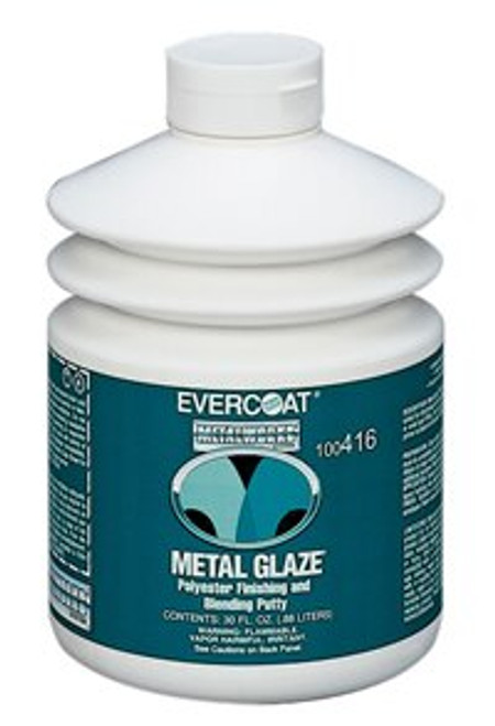 Evercoat 416 Metal Glaze Polyester Finishing and Blending Putty - 30 fl oz Pump Bottle